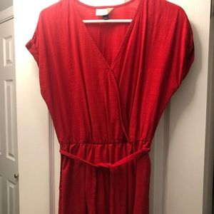 Women's red dress -universal thread